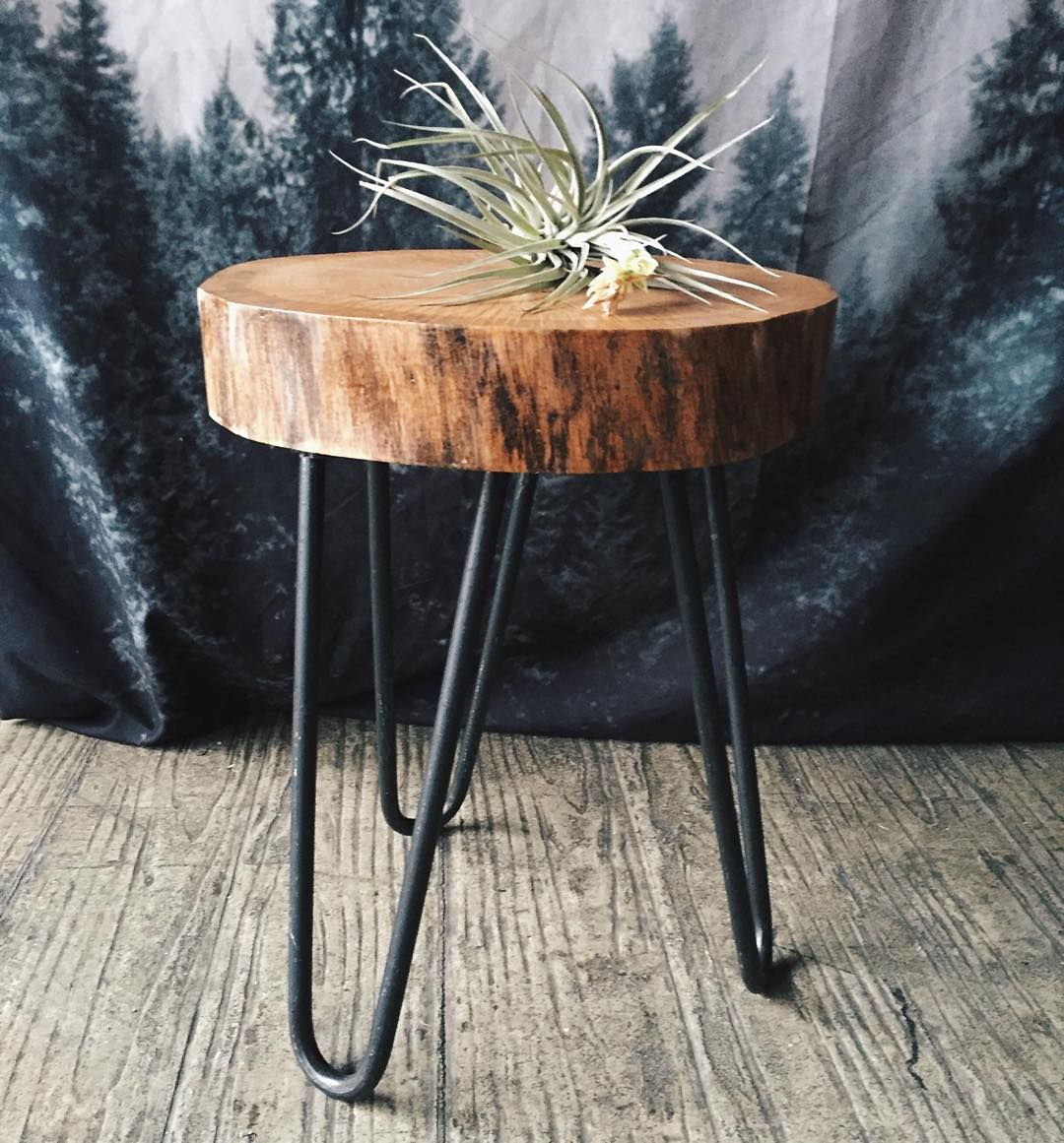HOW TO MAKE TREE STUMP TABLE