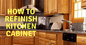 How to Refinish Kitchen Cabines.png
